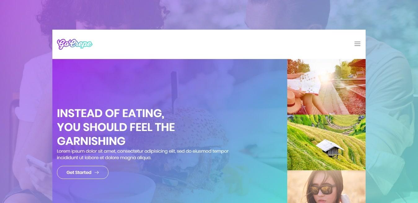 go-crepe-gallery-website-template
