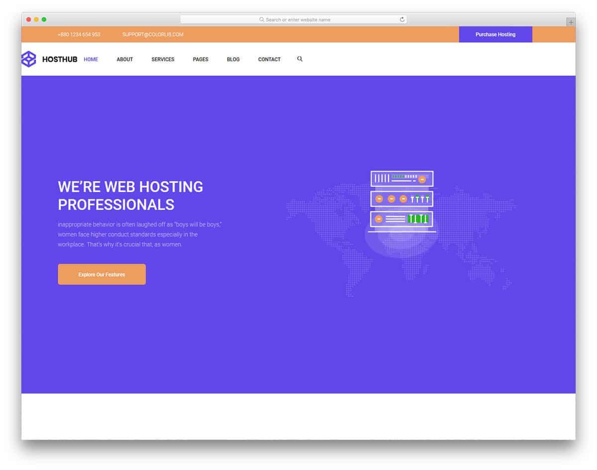 hosthub-free-hosting-website-templates