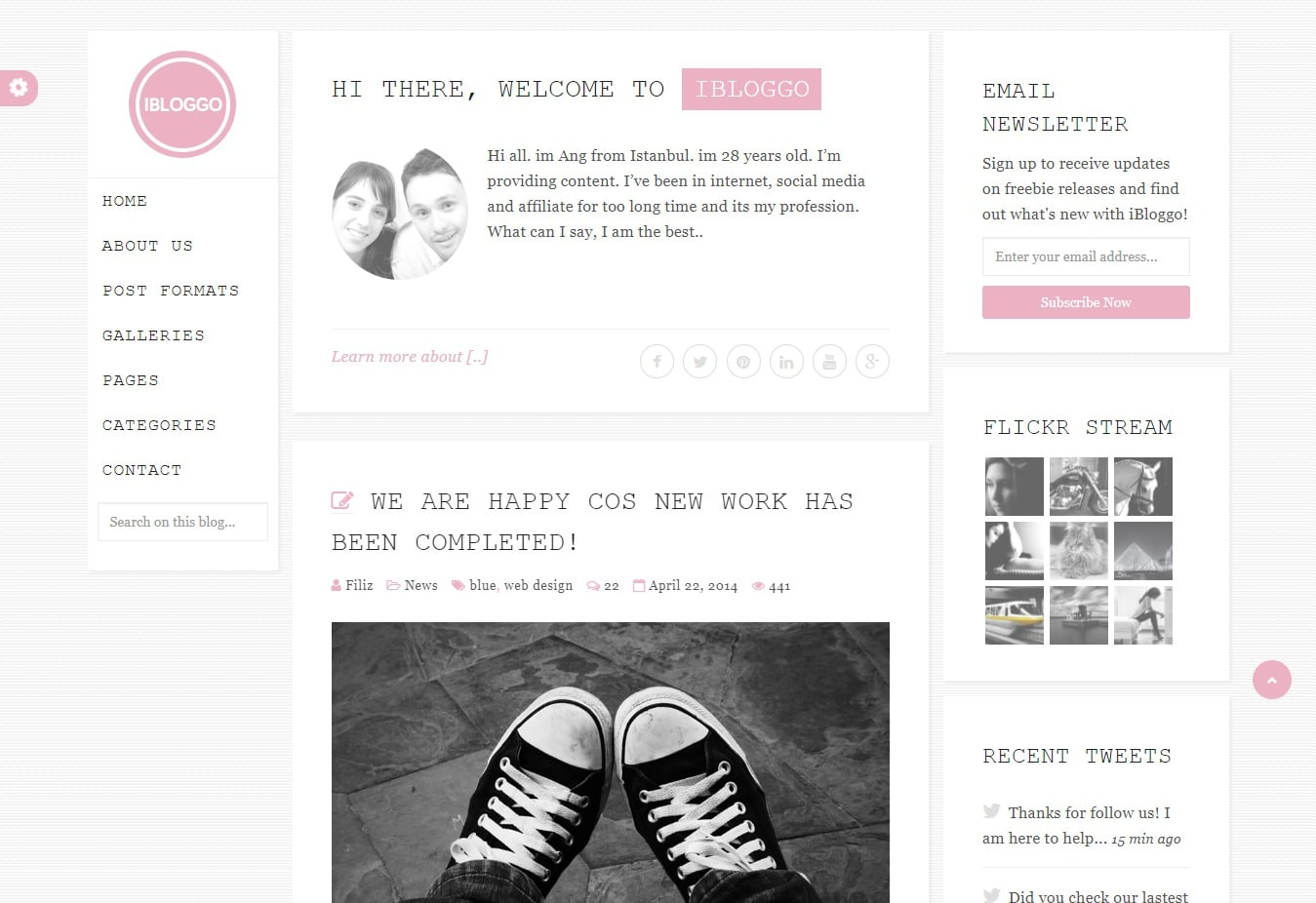 ibloggo-bootstrap-personal-website-template