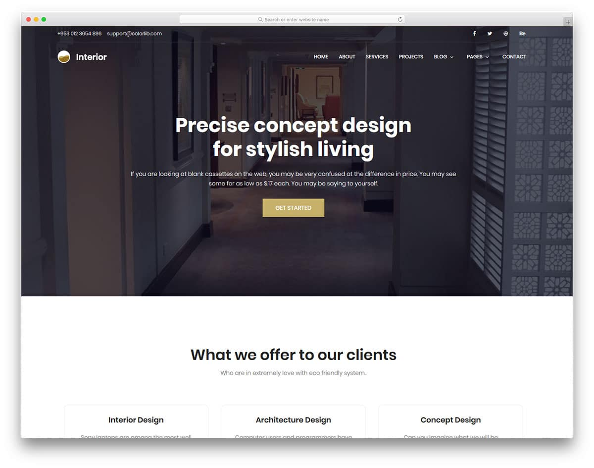 interior-free-web-design-templates