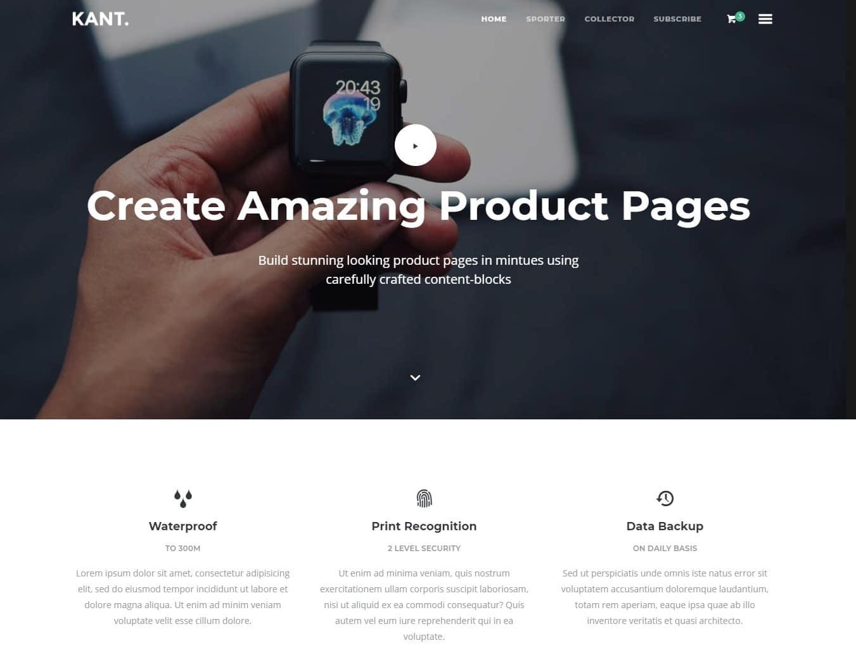 кантоведение-HTML-целевая страница-шаблоны