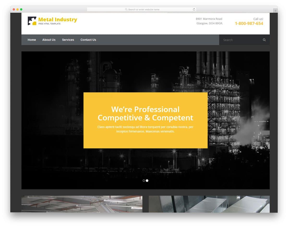 25 free home builder website templates to build your online business metalix free home builder website templates maxwellsz