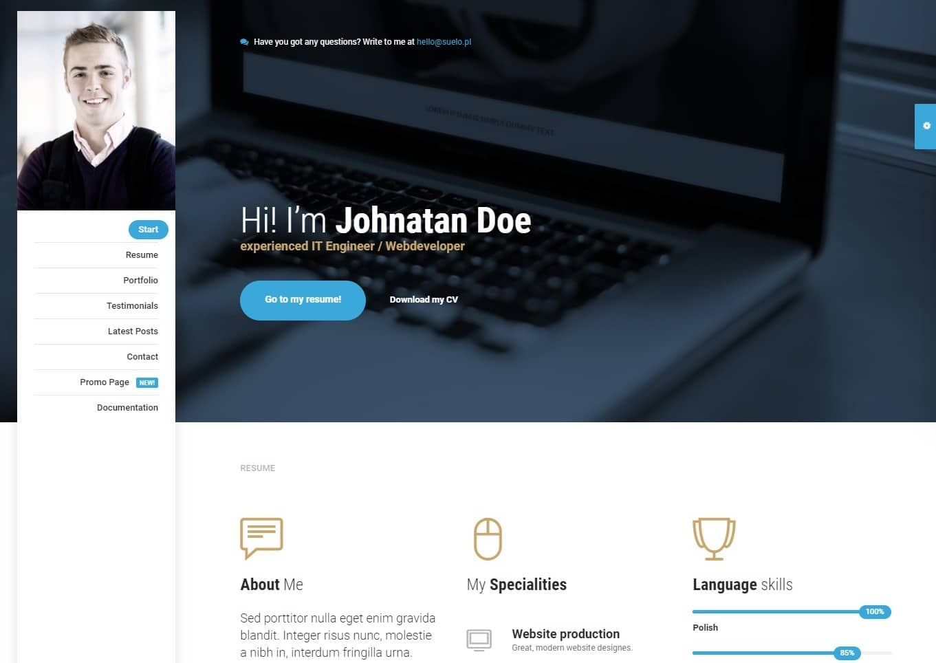 mi-bootstrap-personal-website-template