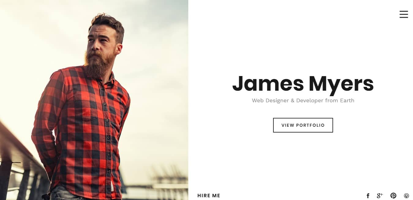 myers-bootstrap-personal-website-template