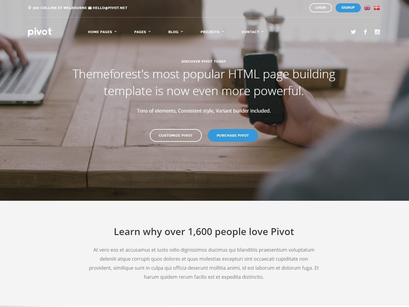 pivot-html-landing-page-templates-pitchdeck-design-services -for-startups