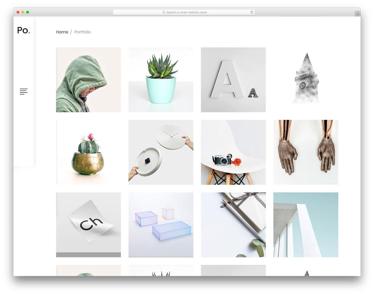 po-portfolio-free-bootstrap-personal-website-template