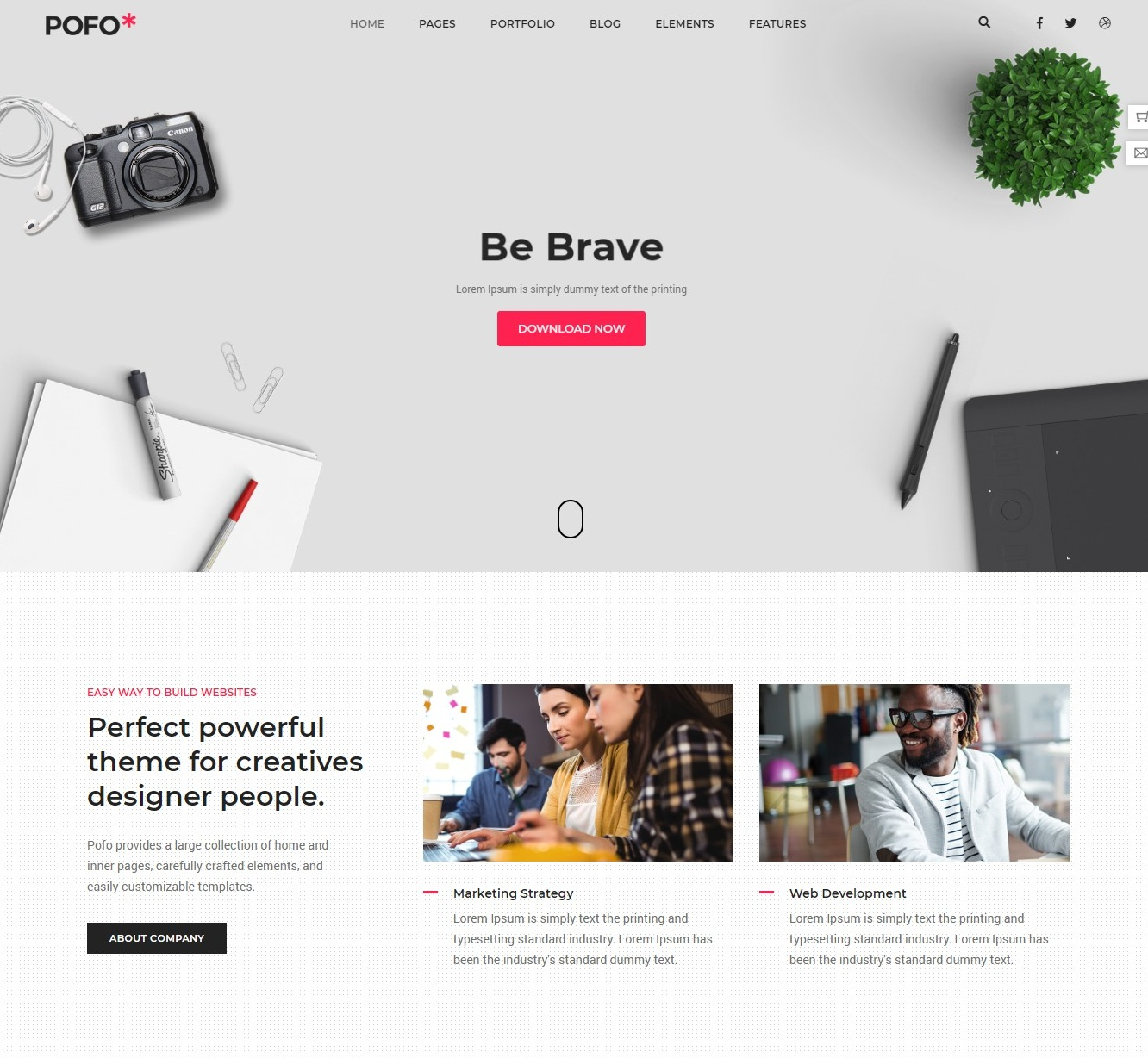 pofo-html-landing-page-templates-podcast-cover-design