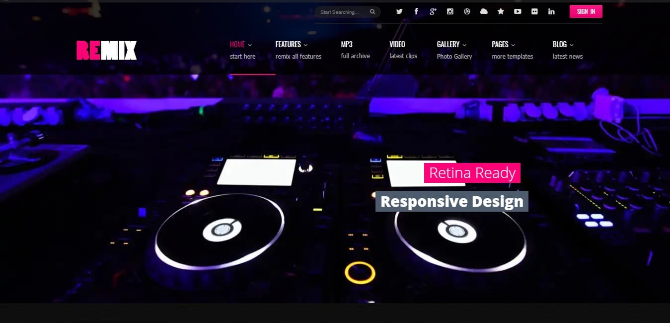 remix-music-event-website-template