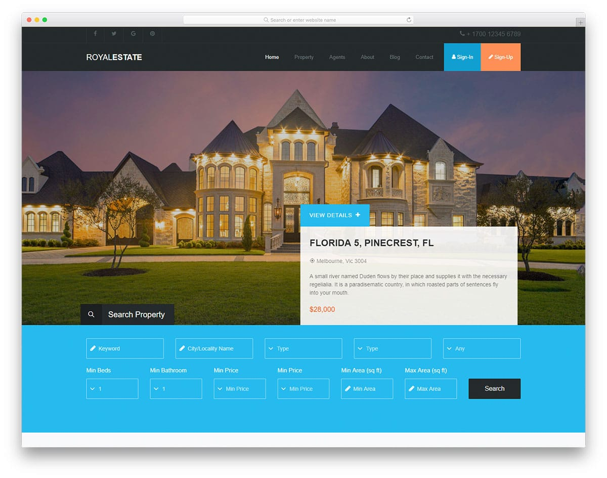 royalestate-free-html5-website-templates