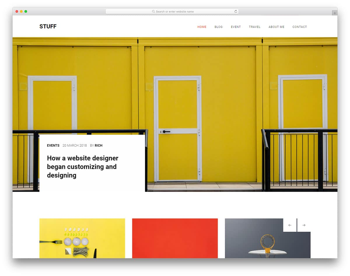 stuff-free-magazine-website-templates