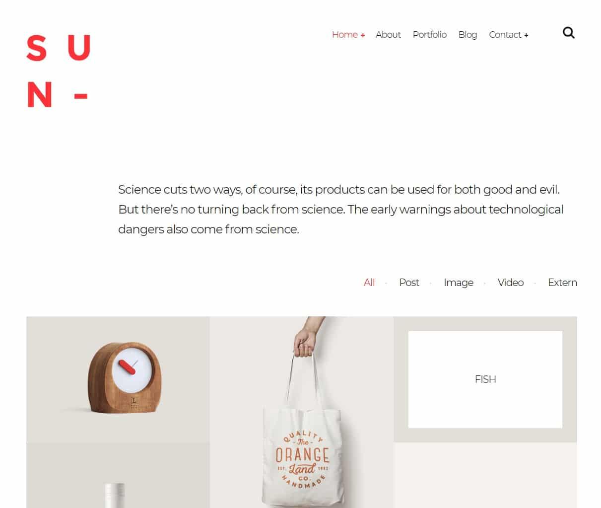sun-gallery-website-template