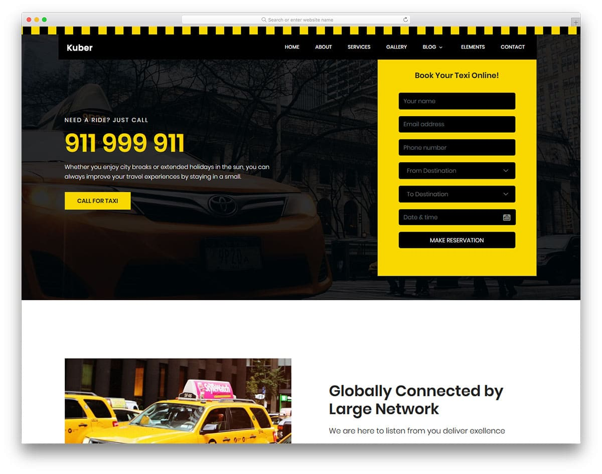 taxi-free-travel-agency-website-templates