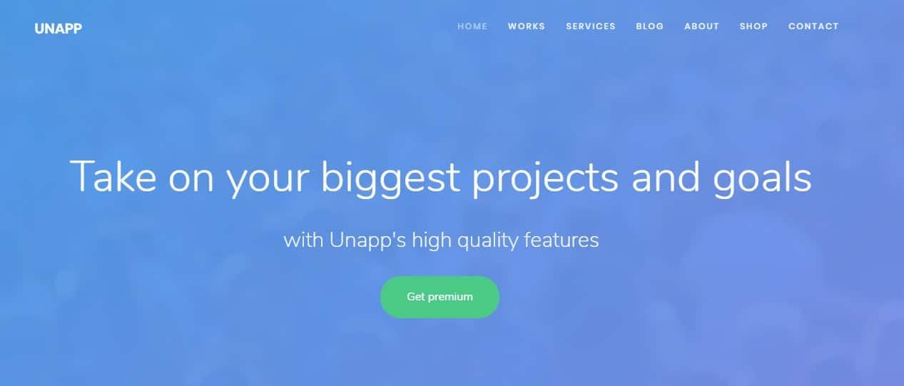unapp-mobile-app-Template