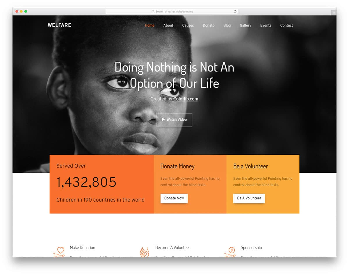welfare-free-web-design-templates