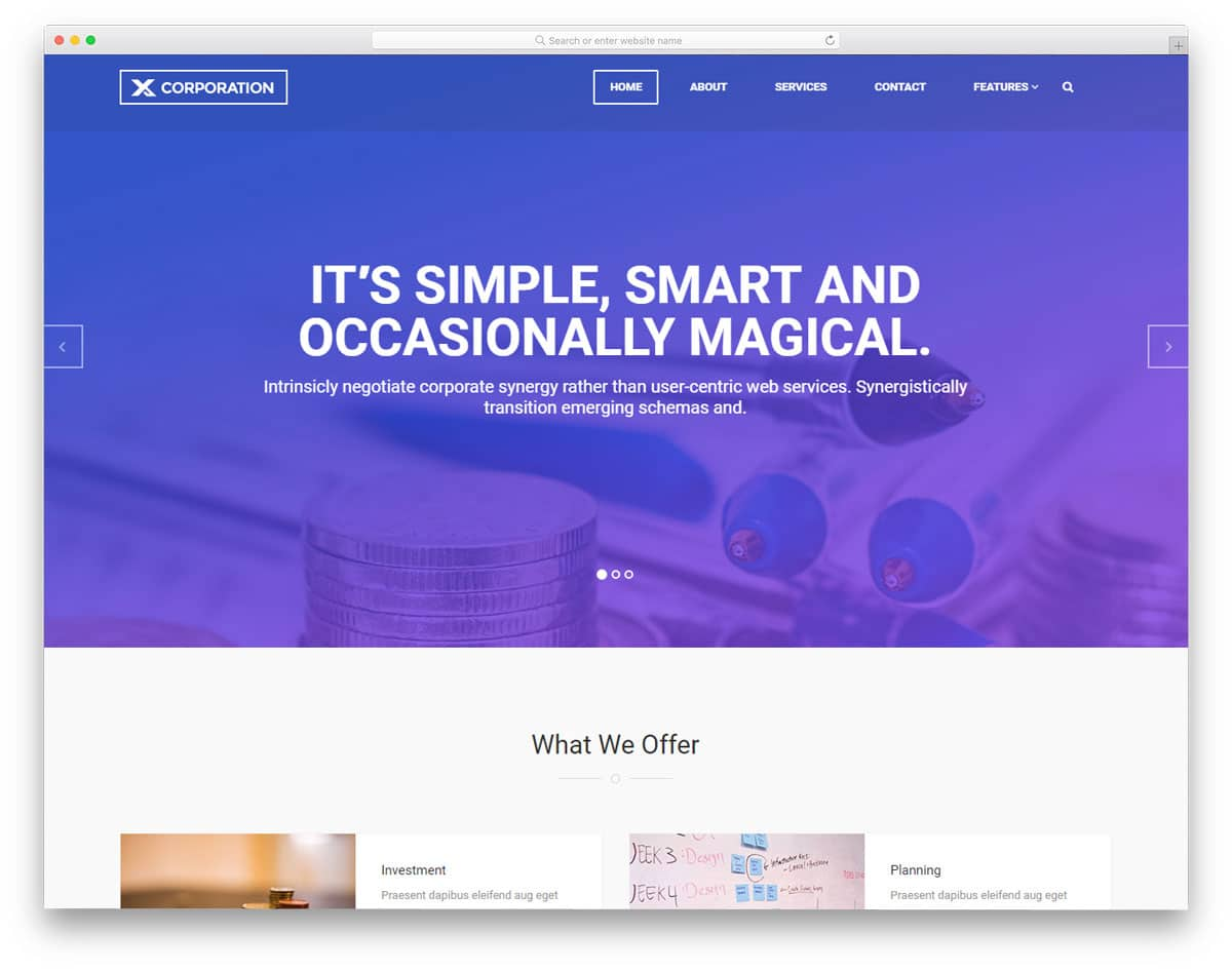 x-corporation-free-web-design-templates