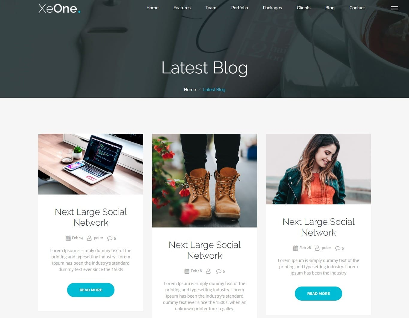 xeone-bootstrap-personal-website-template