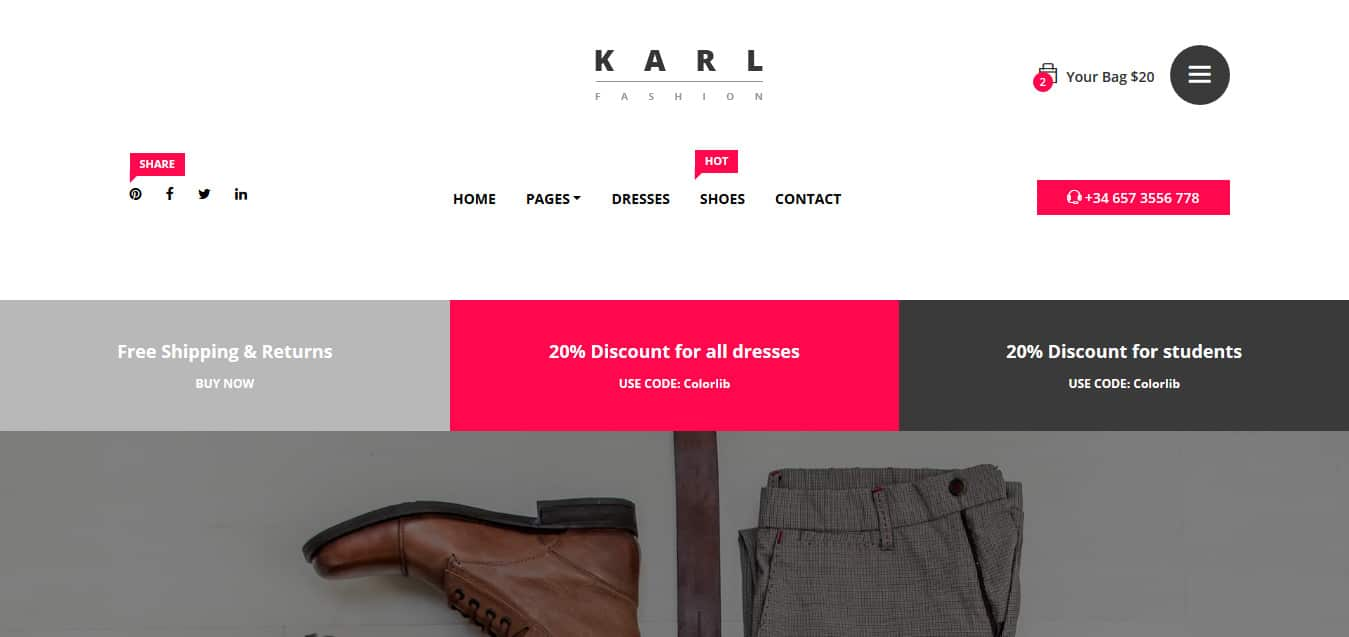 Karl-free-bootstrap-ecommerce-website-template