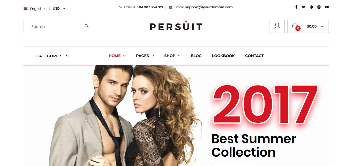 Persuit-free-bootstrap-ecommerce-website-template