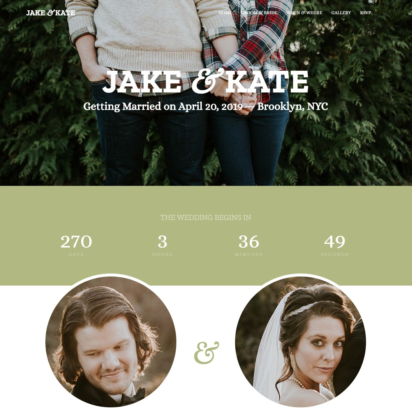 Wedding--free-wedding-website-template
