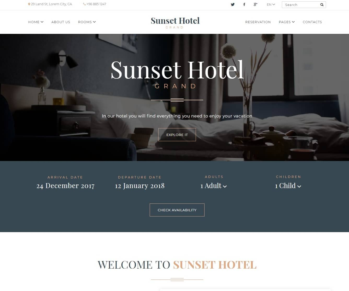 sunset-hotel-website-template