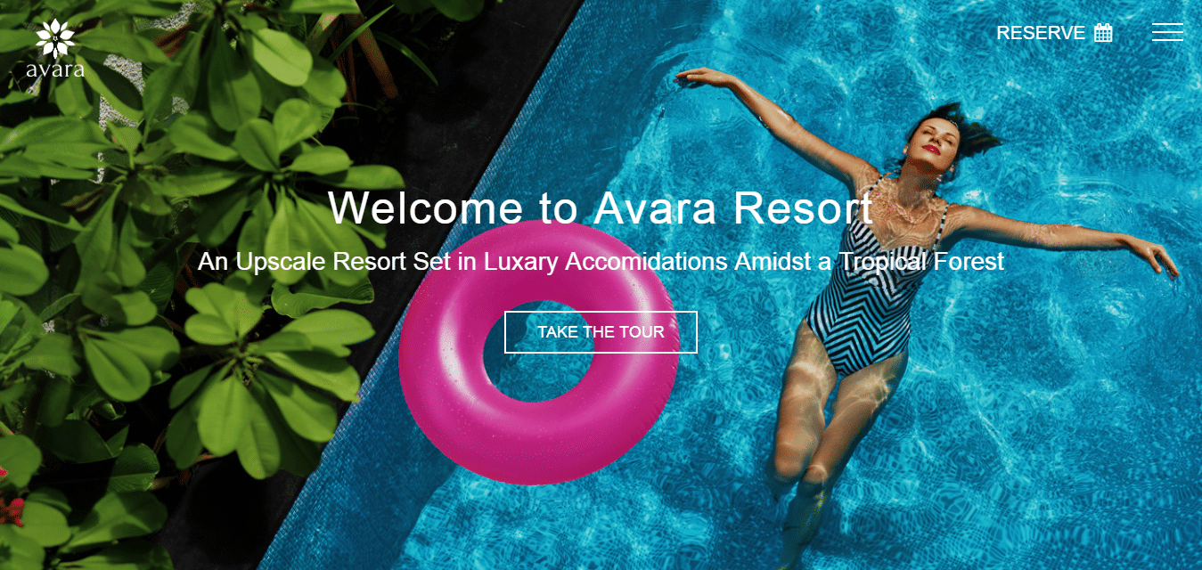 avara-hotel-website-template