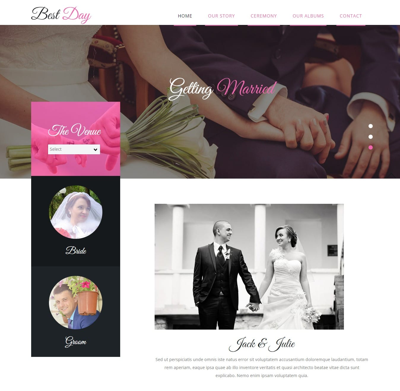 best-day-free-wedding-website-template