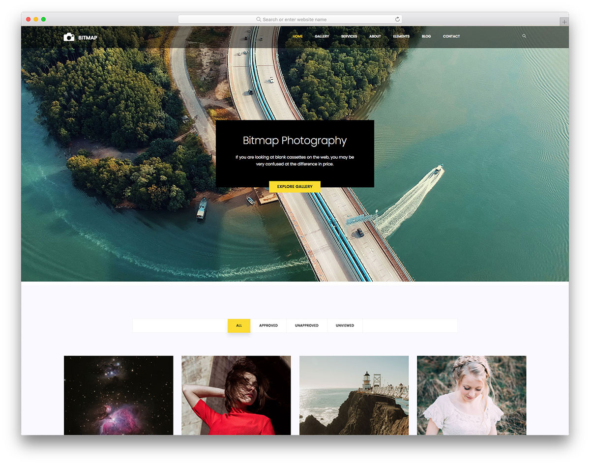 25 free photo gallery templates to elegantly display your work