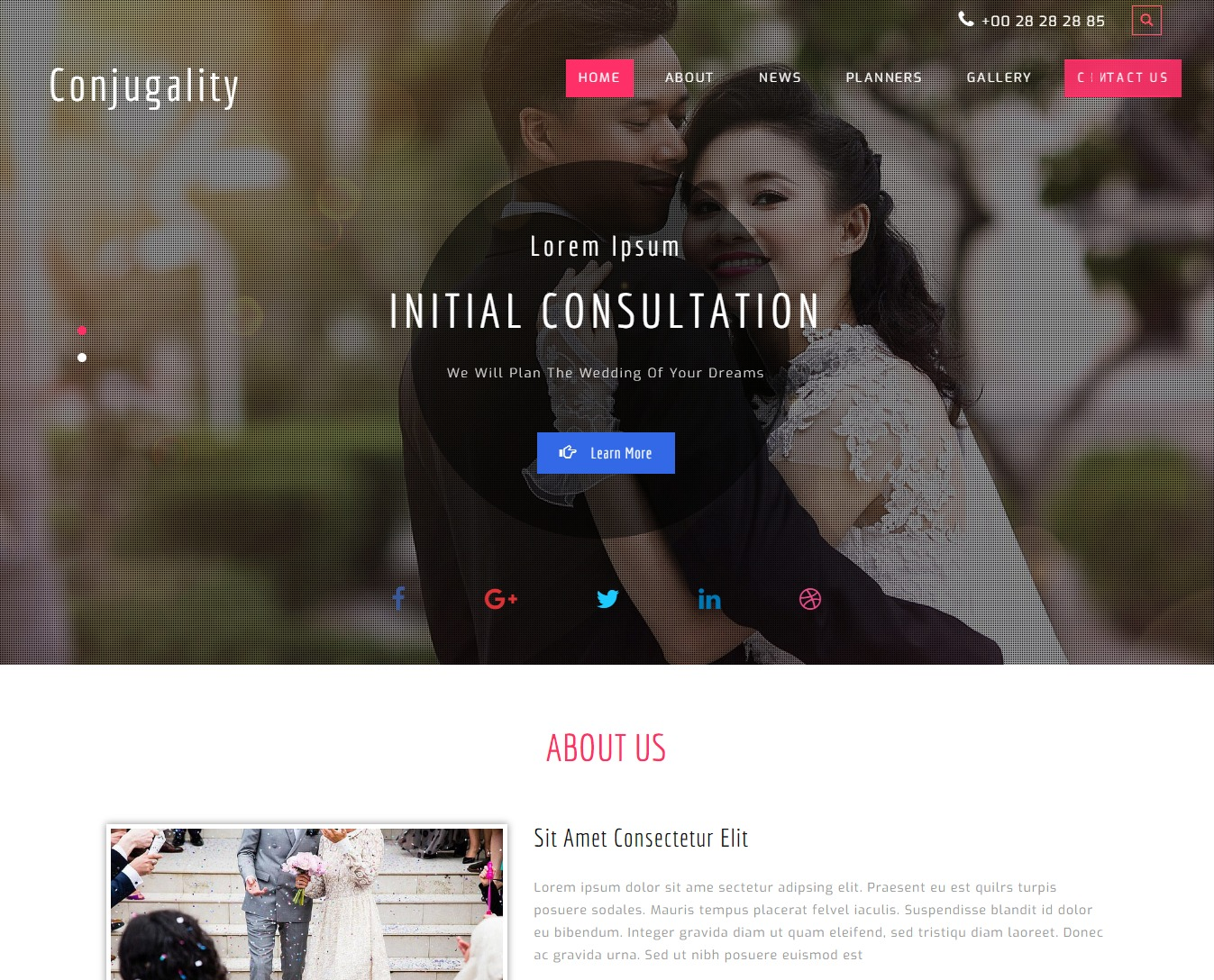 conjugality-free-wedding-website-template