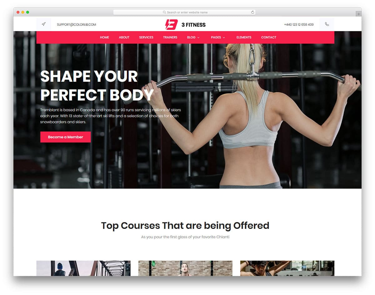 fitness-free-yoga-website-templates