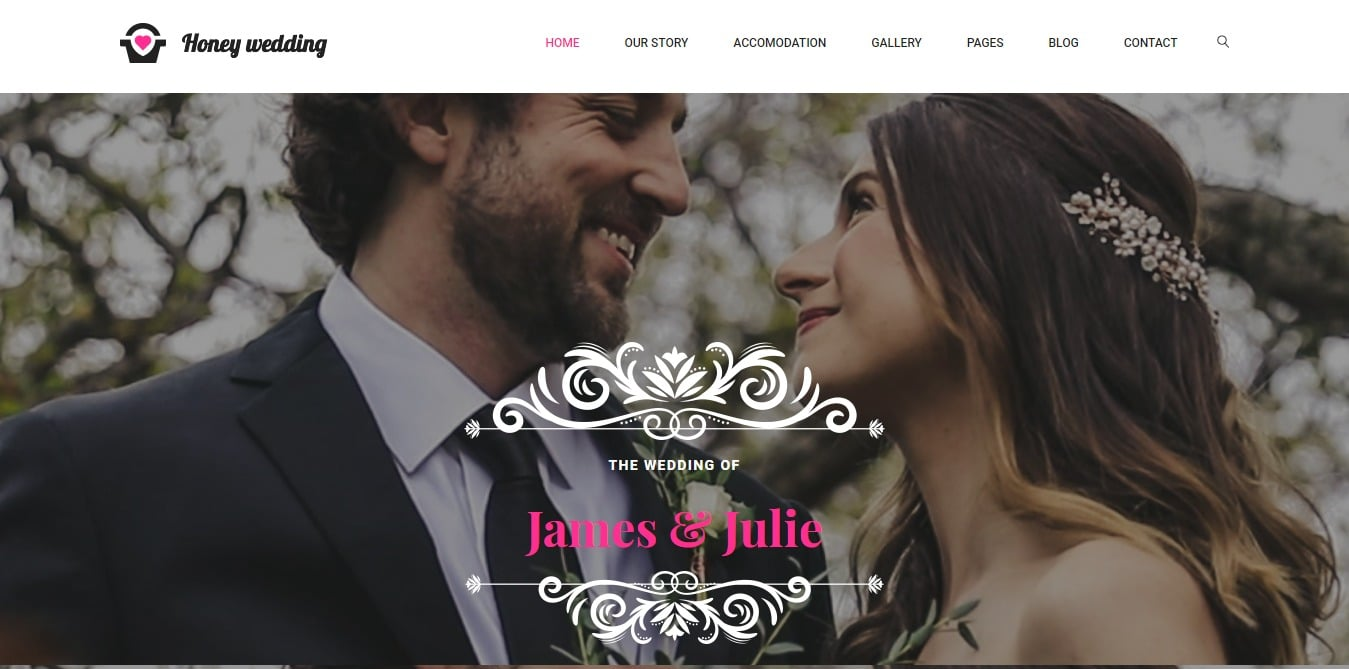 honey-free-wedding-website-template