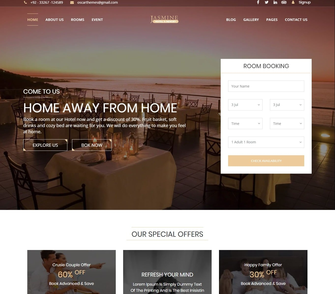 jasmine-hotel-website-template