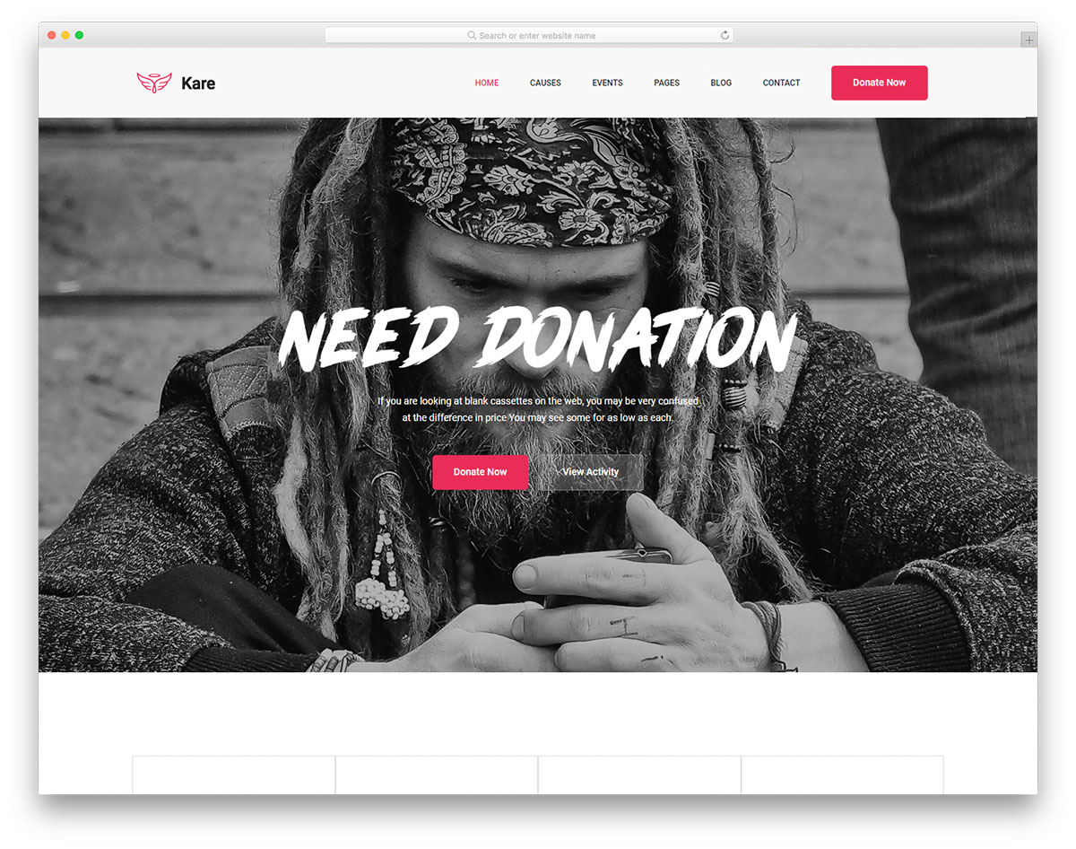 kare-free-clean-website-templates