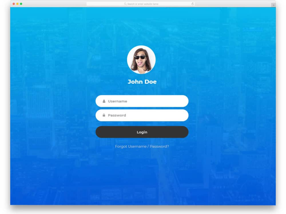 30 Best Free Bootstrap Login Forms For Membership Sites 2019