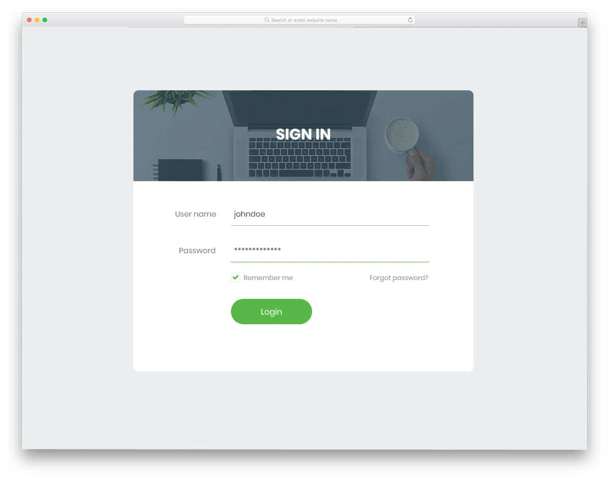 login-form-15-free-bootstrap-login-forms