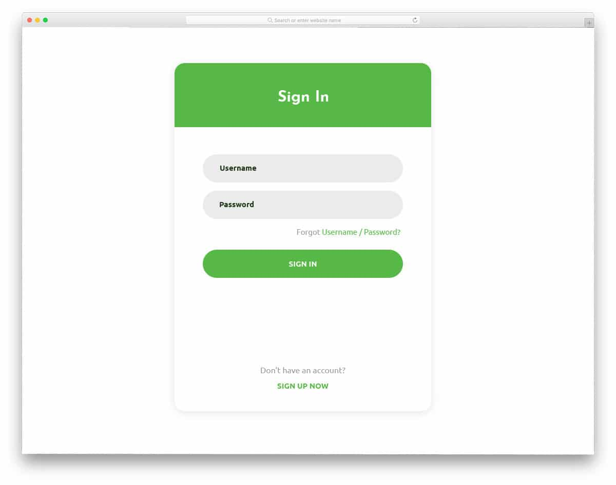 bootstrap login page template free download