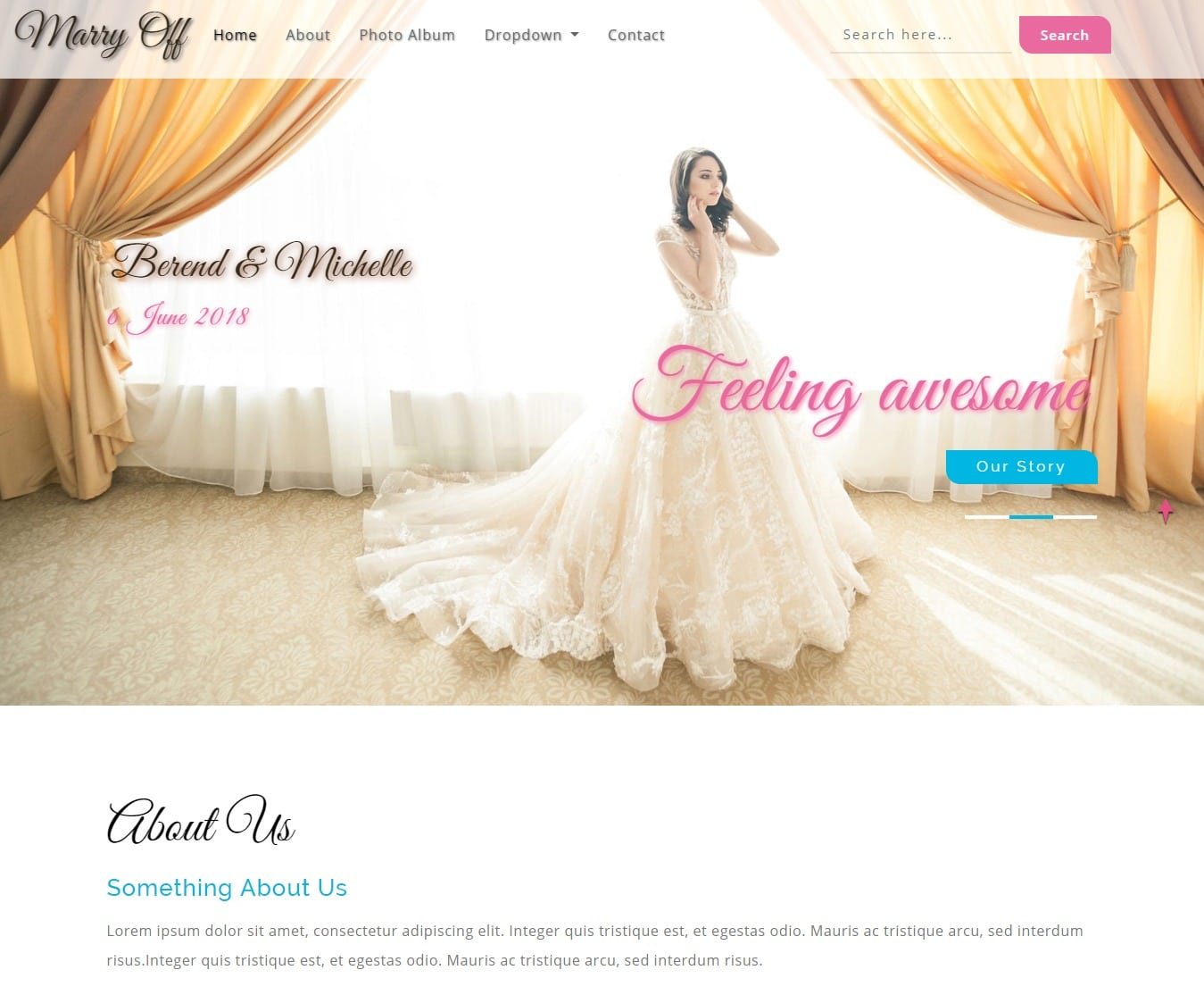 marryoff-free-wedding-website-template