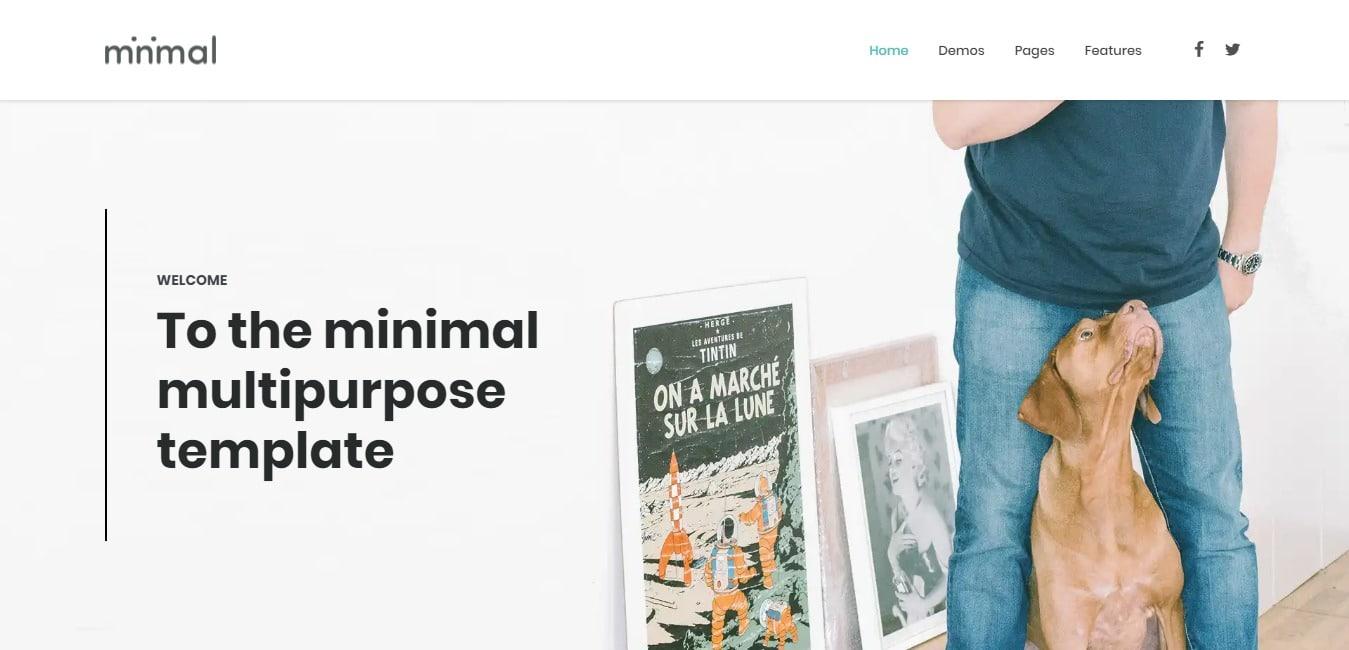 minimal-minimal-website-template