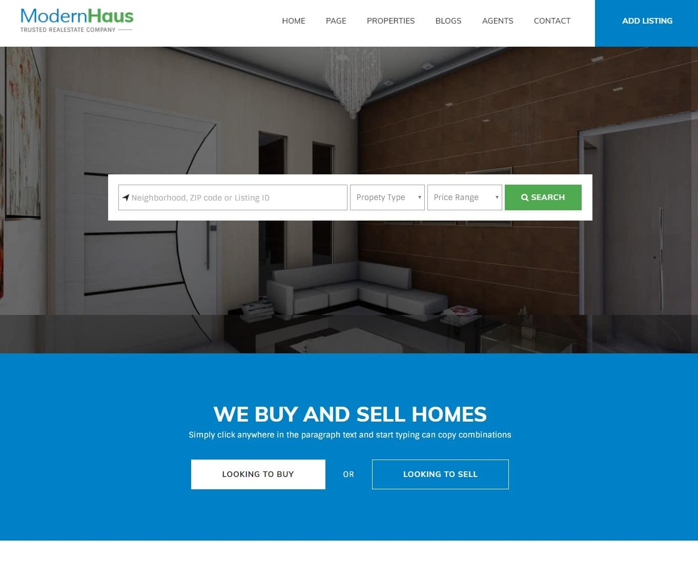 20 Professional Real Estate Website Template For Realtors Brokers