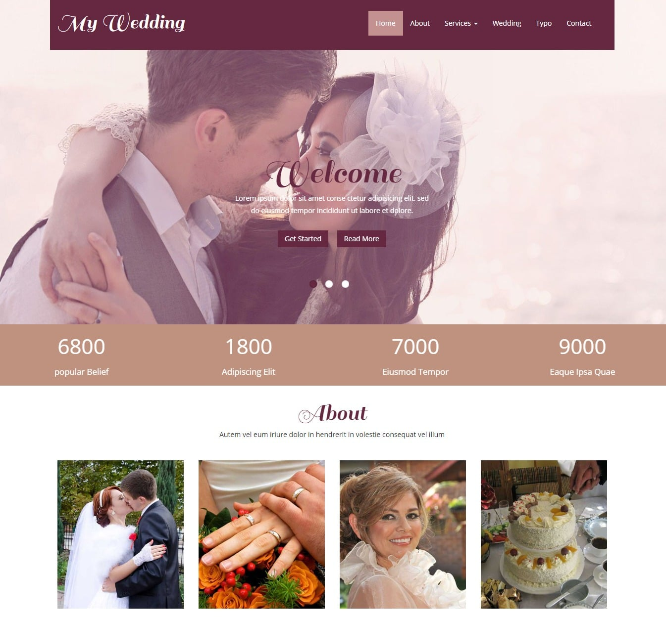 my-wedding-free-wedding-website-template