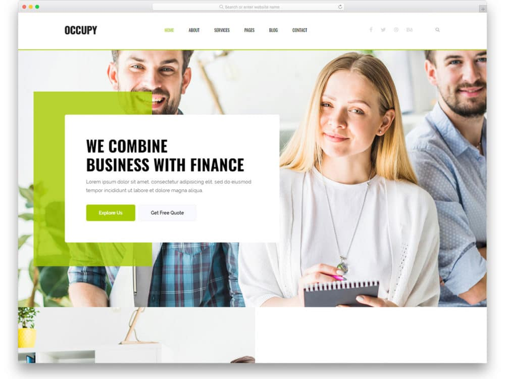 25 free finance website templates that can improve your credibility