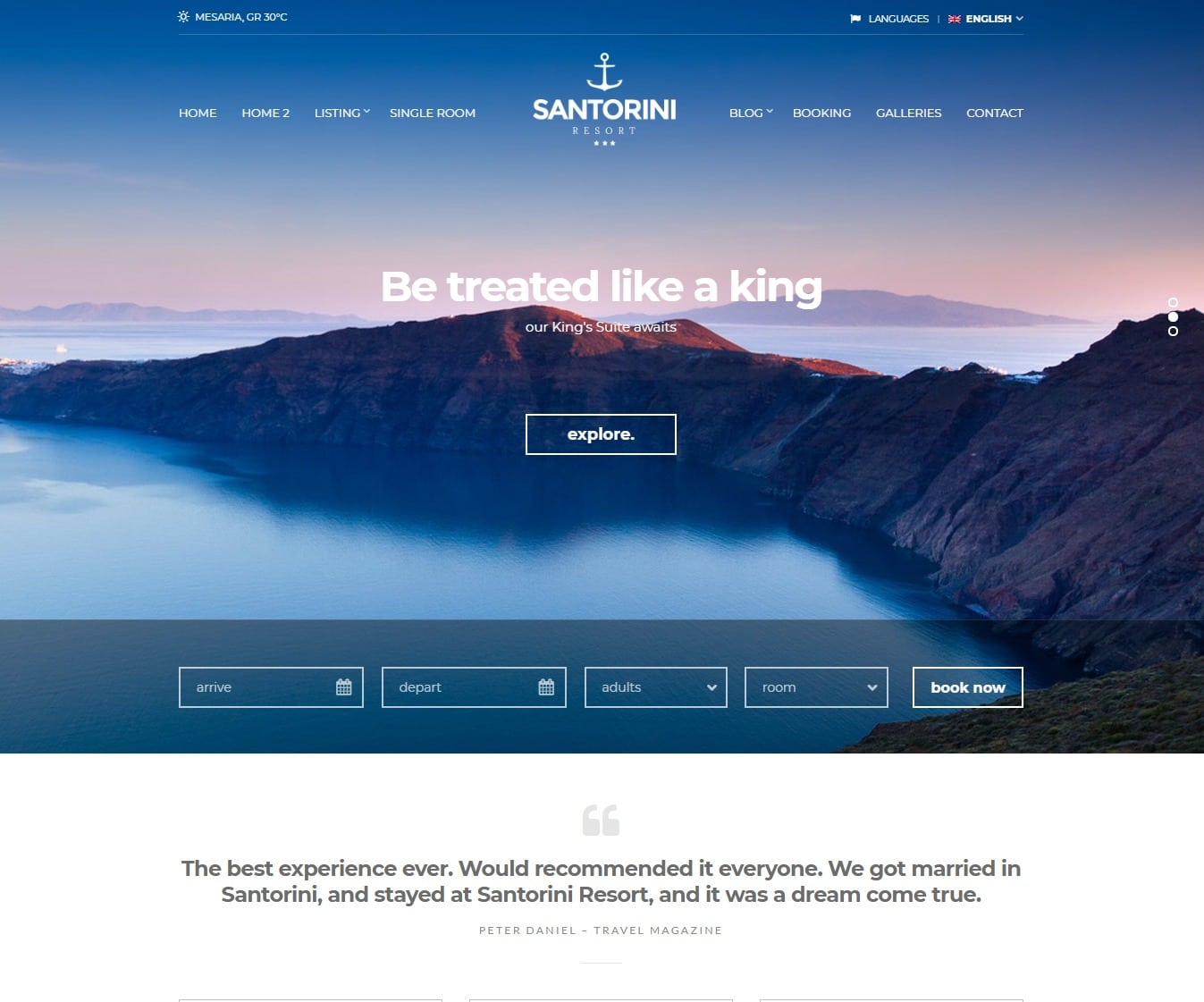 santorini-hotel-website-template
