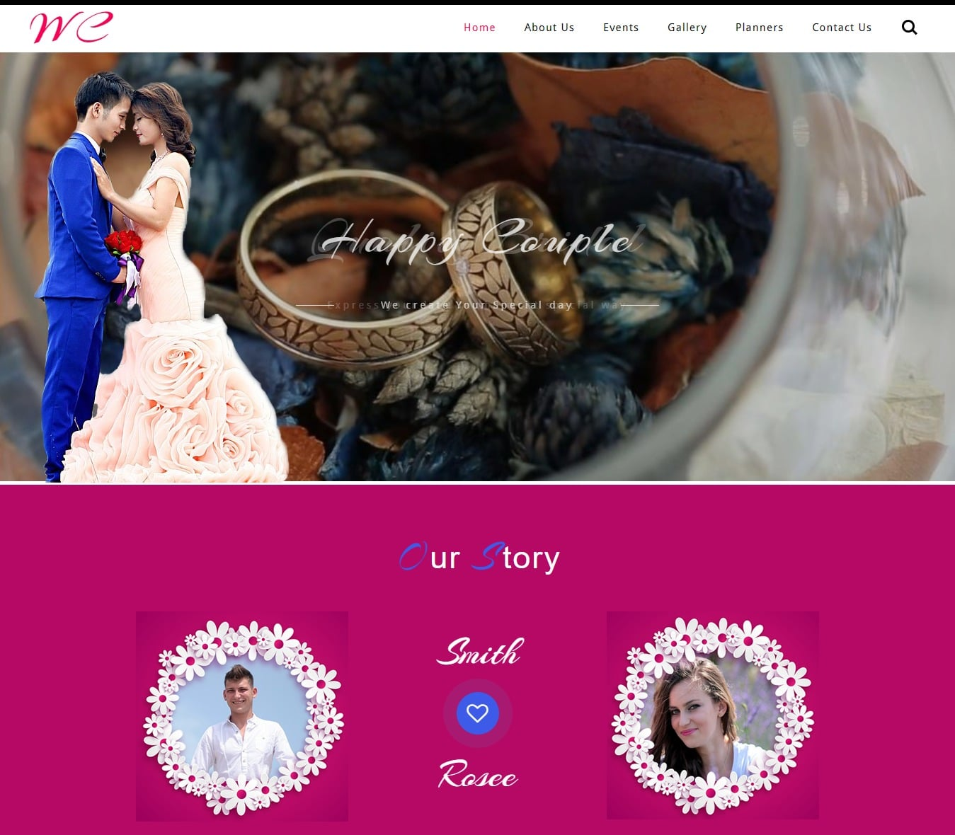 wedding-ceremony-free-wedding-website-template