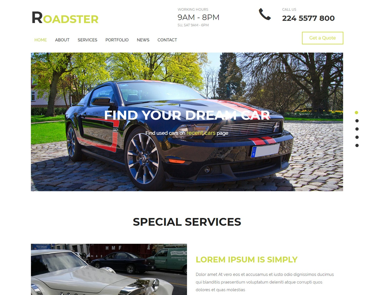 Classified_ads_templates-Roadster
