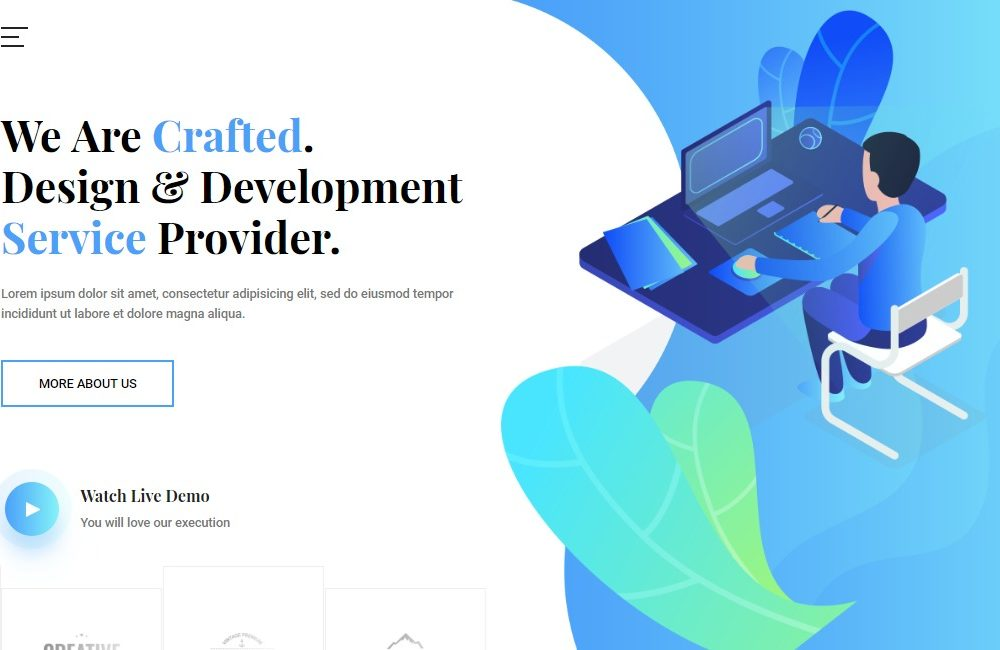 Crafted-it-software-website-template