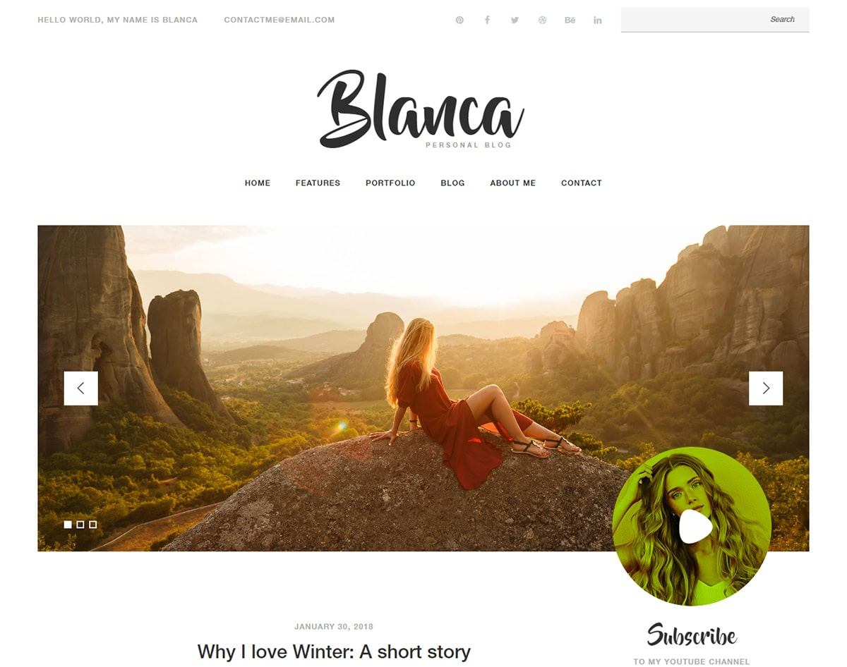 Free-responsive-blogger-templates-Blanca