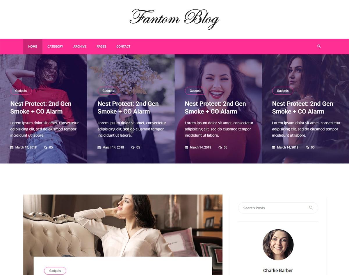 Free-responsive-blogger-templates-Fantom