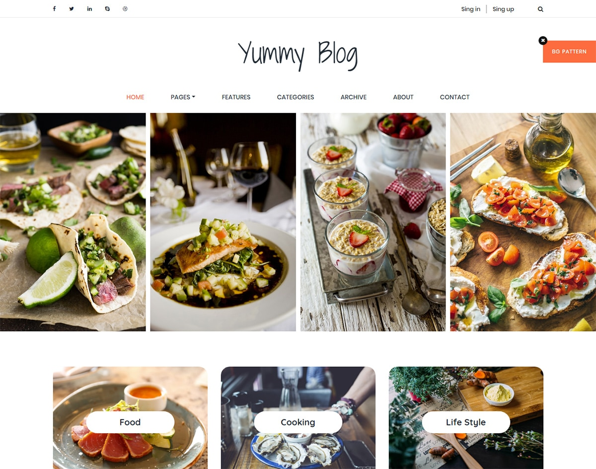 Free-responsive-blogger-templates-Yummy-blog