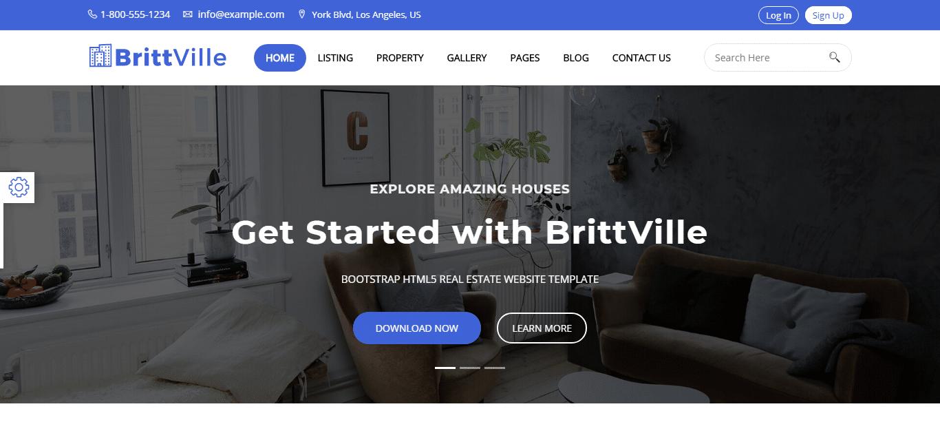 Premium-real-estate-webstie-template-brittville