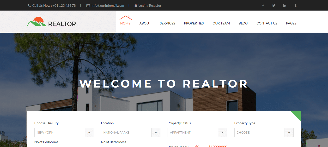 Premium-real-estate-webstie-template-realtor