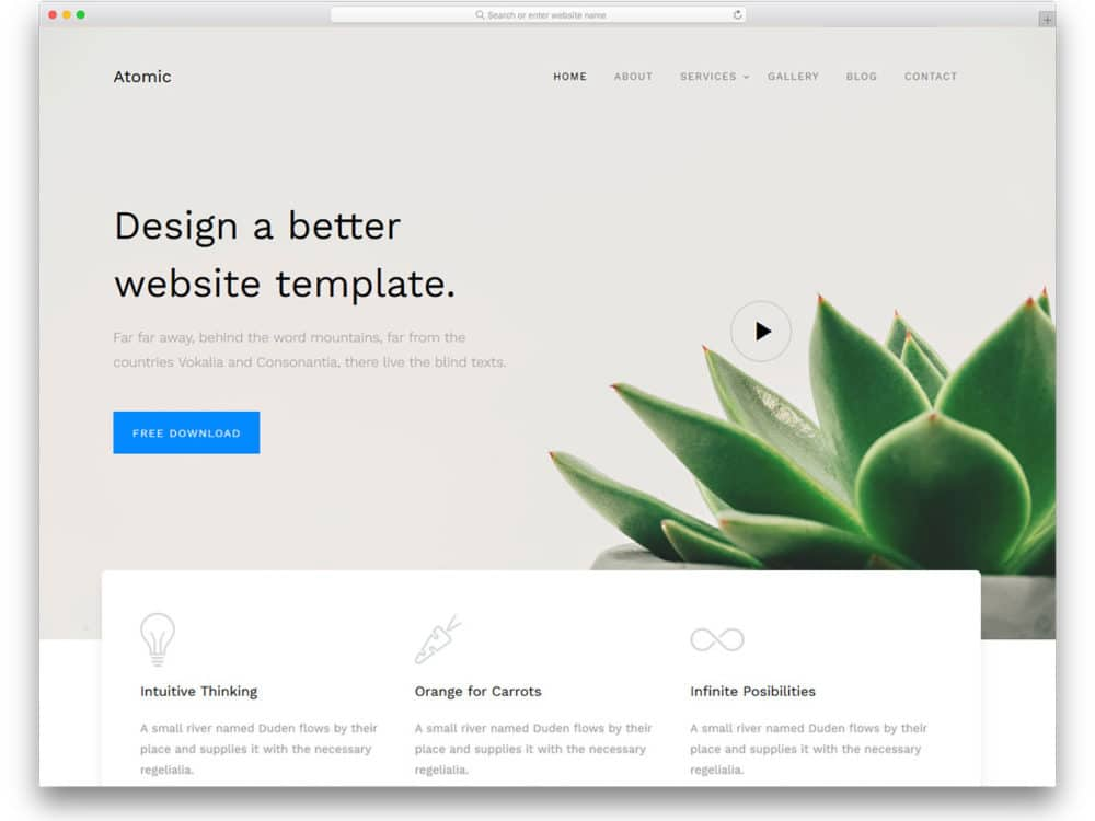 atomic-free-responsive-bootstrap-templates